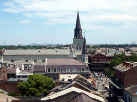 French Quarter Rooftops 1