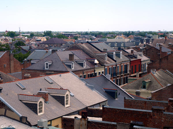 French Quarter Rooftops 3 by Kicks02