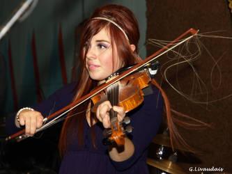 Amanda Shaw - loose strings by Kicks02