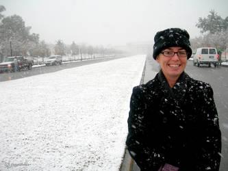 NOLA Snow - Cathy at City Park by Kicks02
