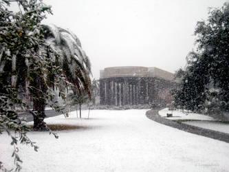 NOLA Snow - Peristyle 1 by Kicks02