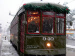Streetcars in the Snow 2