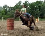 Rodeo - Barrels 10 by Kicks02