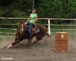 Rodeo - Barrels 12 by Kicks02