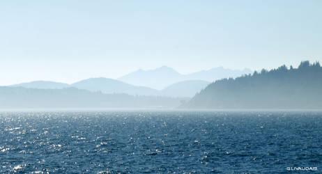 Olympic Peaks- Misty Mountains by Kicks02