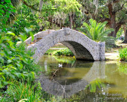 City Park Stone Bridge by Kicks02