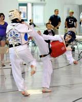 Shannon Taekwondo Gold Spar by Kicks02