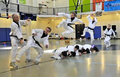 Ross Flying Side Kick