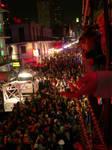 Mardi Gras and Bourbon Street