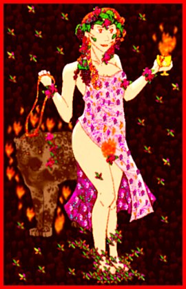 Priestess of Dionysus (2012 Collabs) by Typhon--Monster-King