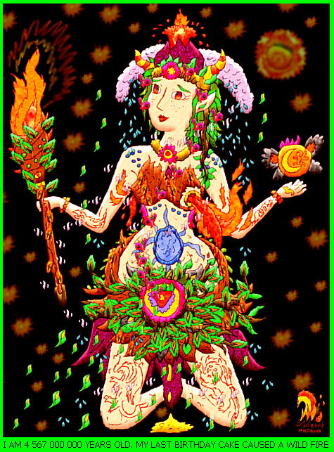 Mother Earth Gaia by God-of-All-Monsters
