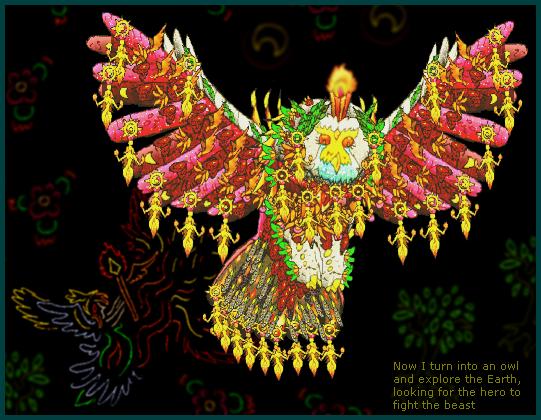 OWL OF ATHENA by Dragon-King-Typhon