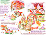 Volcanic Dragon in the Middle Ages by King-of-Monster-Gods