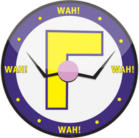 Waluigi-Time-Clock by TheHope18