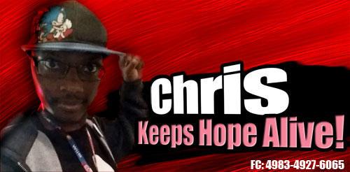 Chris Joins The battle!
