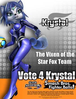 Krystal for Smash 4