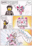Bad Cop and Unikitty