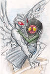 Mothman and Flatwoods Monster