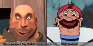 Gmod Heavy Weapons Guy totally looks like Bluto
