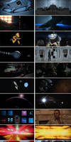 2001: A Space Odyssey and Alien