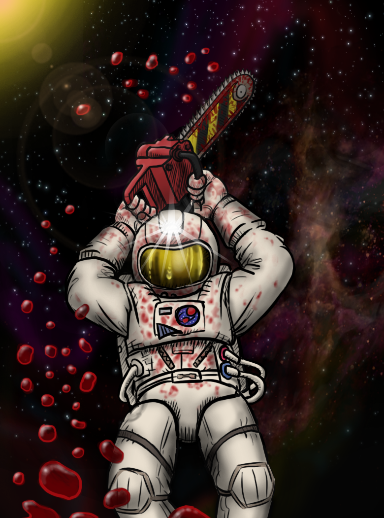 Chainsaw astronaut by killb94 on DeviantArt