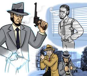 Abe Murdoc by killb94