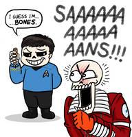 Star Trek Undertale by killb94