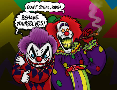 The Crimson Clown and Zeebo