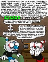Cuphead and Mugman in: Radio Panic by killb94