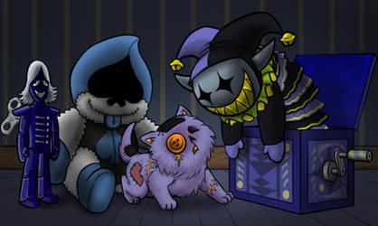 Darkner Toys by killb94