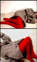 asleep.