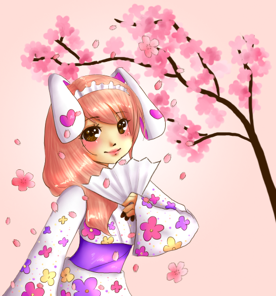 Cherry Blossom by CoffeeBuns