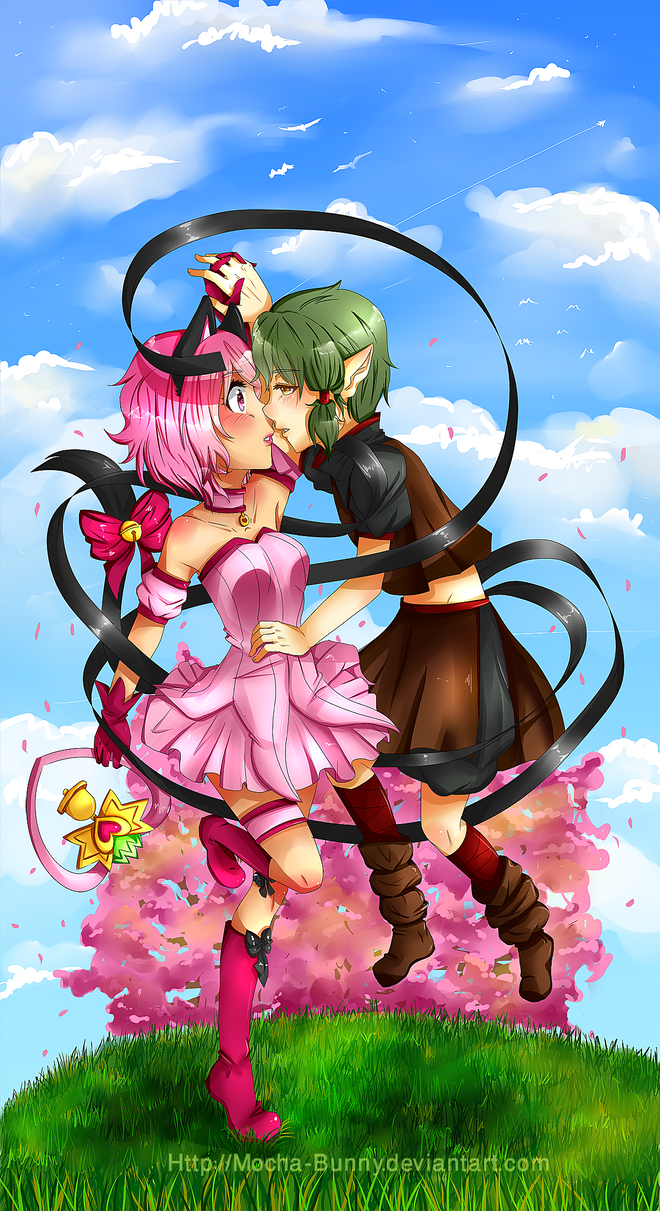 A sweet Kiss from Kisshu 2.0 by CoffeeBuns
