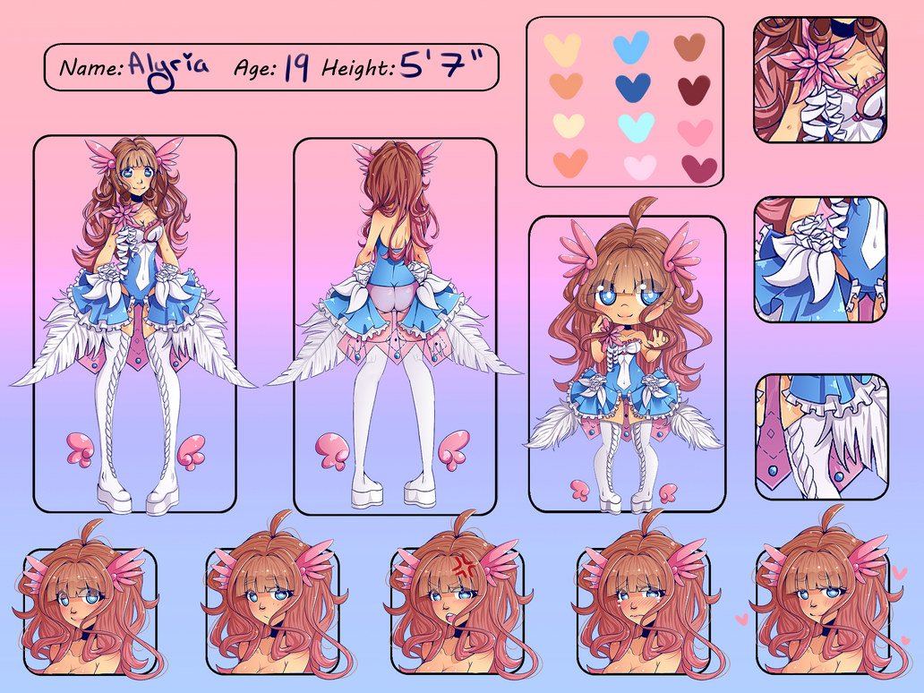 Commission: Alyria Reference by CoffeeBuns
