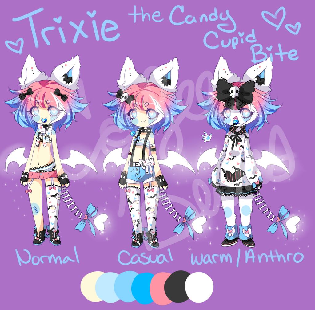 Trixie Reference by CoffeeBuns