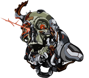 cyberSkull by Caetis