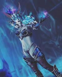 Sindragosa The Frost Queen (human form) by VereskVeresk