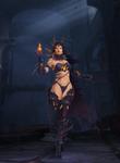 Sinestra The Twilight Queen human form by VereskVeresk