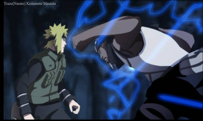 Yondaime vs Raikage by Trazo17