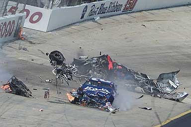 mike harmon crash by Fordartist