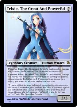 Trixie human mtg