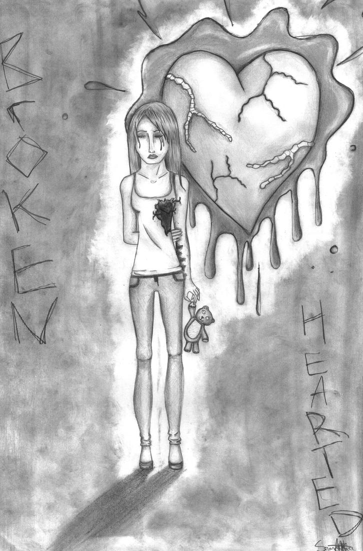 broken heart drawing tumblr car interior design