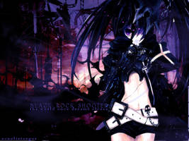 Black Rock Shooter by EcnelisTerger