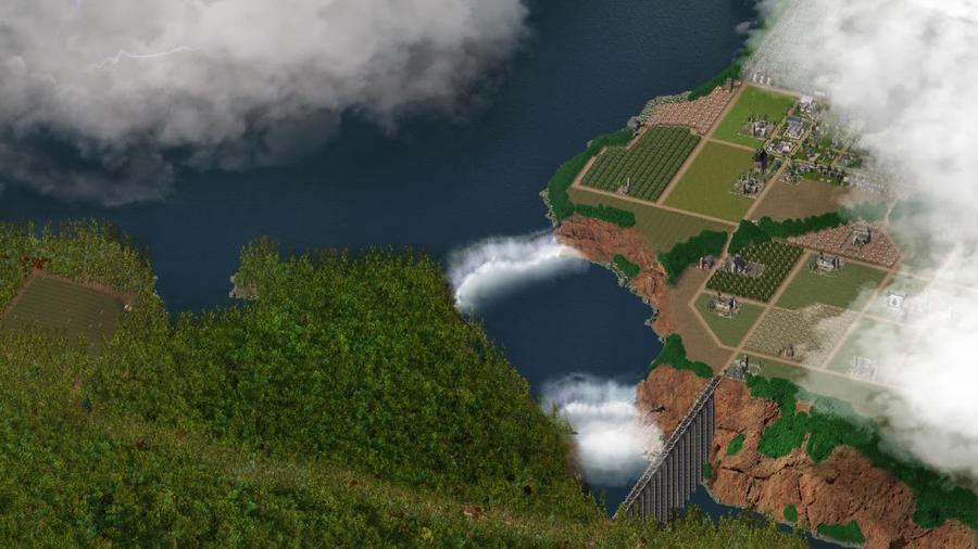 Zhail Falls by jporter64060