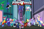 My Little Pony: Power Ponies by KayMan13