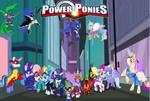 My Little Pony: Power Ponies by KayMan13