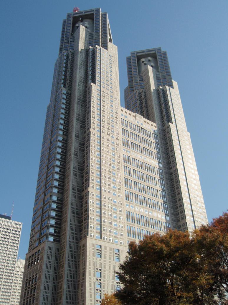 Tokyo Metropolitan Government Building by mac-chipsie
