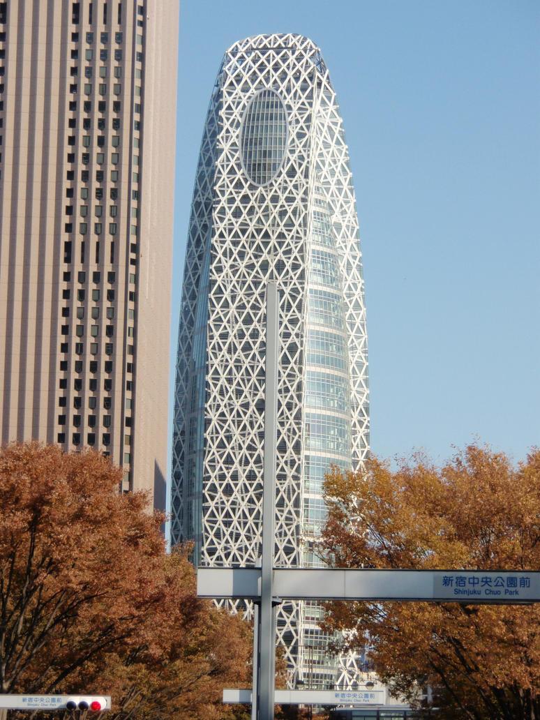 Mode Gakuen Cocoon Building by mac-chipsie