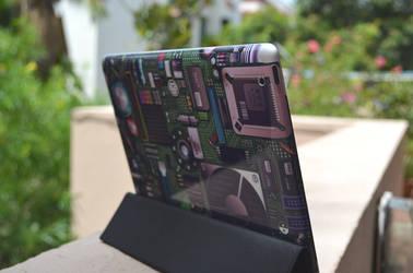 iPad gelaskin by corleno