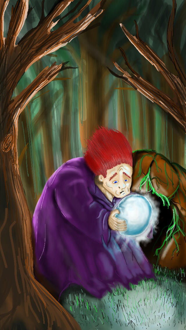 The forest wizard